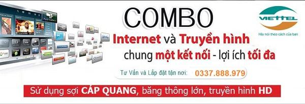 combo internet và truyền hình viettel