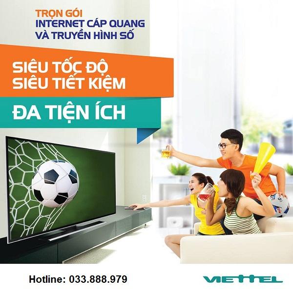 combo internet và truyền hình