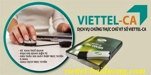 chứng nhận chữ ký số viettel
